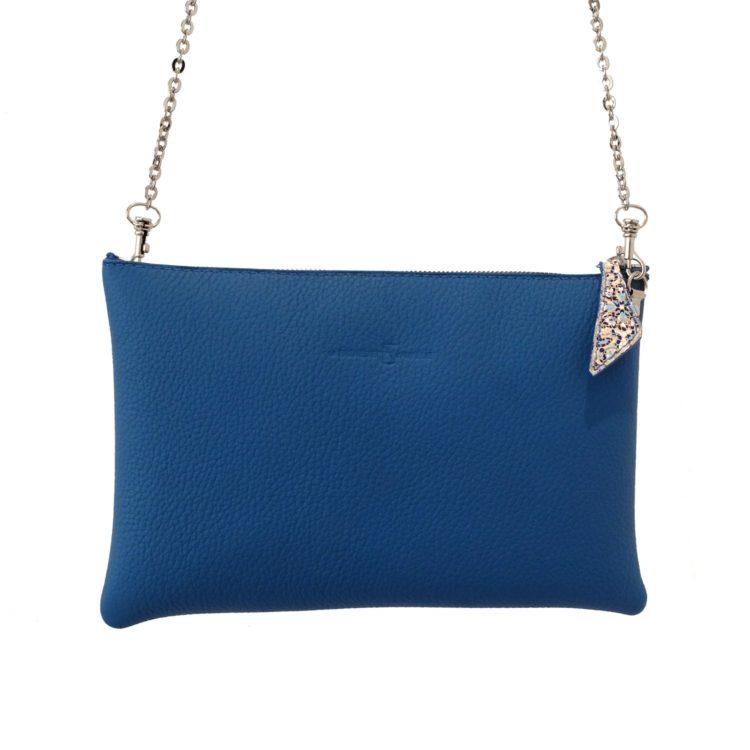Pochette bleue
