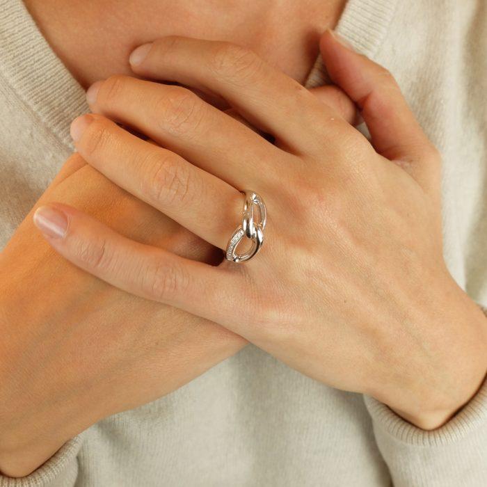 Bague Anne diamants