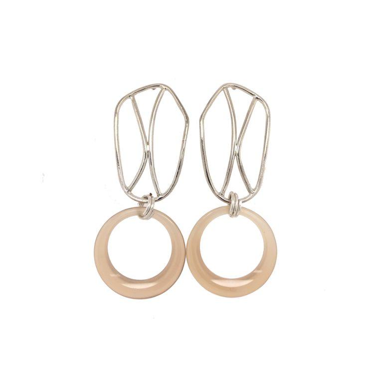 Boucles d'oreilles géométriques