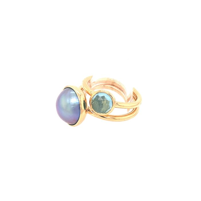 Bague Charly perle