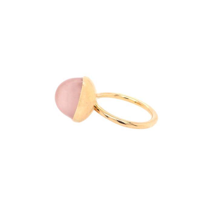 Bague Charly quartz rose