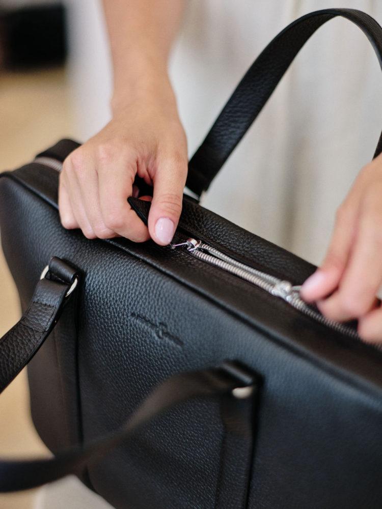 Black Lorenzo Briefcase